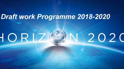 """""""ჰორიზონტი 2020""""-ის სამუშაო პროგრამების პირველადი ვერსიები 2018-2020 წლებისთვის"""