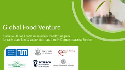 EIT Food's Global Food Venture (GFV) programme