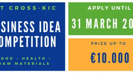 ბიზნეს იდეების კონკურსი-EIT CROSS-KIC 2018