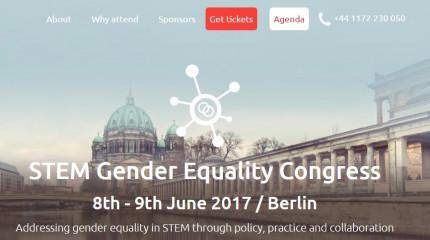 STEM Gender Equality Congress