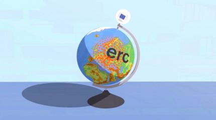 ახალი ანიმაციურ ვიდეო რგოლი ევროპული კვლევების საბჭოს (ERC) შესახებ