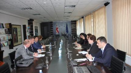 შეხვედრა ISTC-ის  წარმომადგენლებთან