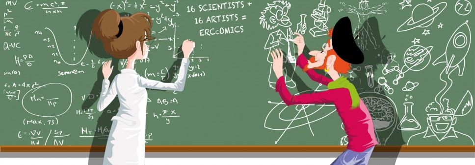 European Research Council (ERC) new initiative – Comics