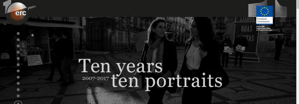 10 years, 10 portraits
