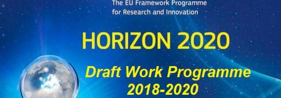 """გამოცხადდა """"ჰორიზონტი 2020""""-ის სამუშაო პროგრამის პირველადი ვერსია 2018-2020 წლებისთვის"""
