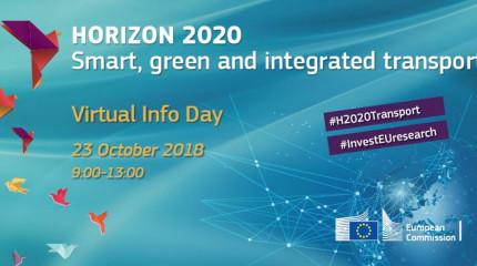"""ვირტუალური საინფორმაციო დღე ჰორიზონტი 2020-ის """"ჭკვიანი, მწვანე და ინტეგრირებული ტრანსპორტის"""" სამუშაო პროგრამის შესახებ"""