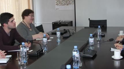 შეხვედრა საქართველოში ჩინეთის სახალხო რესპუბლიკის ელჩთან
