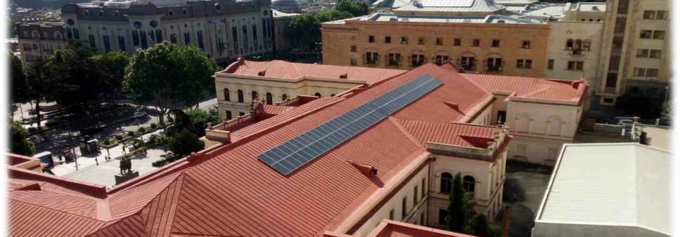 თბილისის კლასიკური გიმნაზიის ავტონომიური  მზის ელექტროსადგურის კვლევა