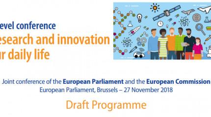 """საერთაშორისო კონფერენცია - ,,ევროკავშირის კვლევა და ინოვაცია ჩვენს ყოველდღიურ ცხოვრებაში"""""""