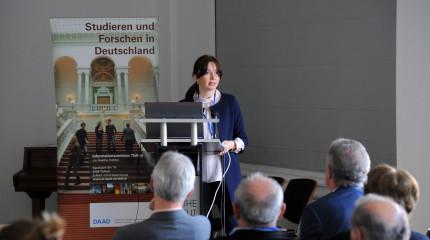 """გოეთეს ინსტიტუტში საქართველოში გაიმართა საინფორმაციო სემინარი """"კვლევა გერმანიაში"""""""