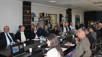 ORAU-სა და სამეცნიერო ფონდს შორის თანამშრომლობისადმი მიძღვნილი შეხვედრა