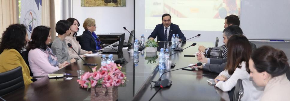 EURAXESS-Georgia-ს მმართველი კომიტეტის სხდომა