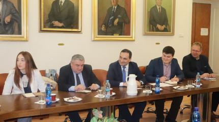 Scientific Cooperation between SRNSFG and Slovak Academy of Science