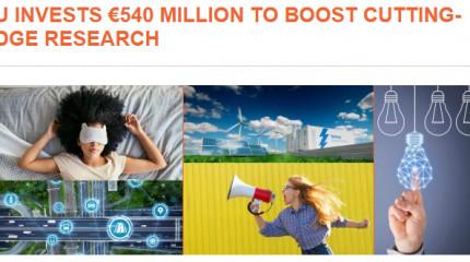 ევროკავშირის 540 მილიონიანი ინვესტიცია გამორჩეული ხარისის კვლევების მხარდასაჭერად