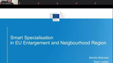 """ონლაინ შეხვედრა  ,, Smart Specialisation for Regional Growth in Georgia"""""""