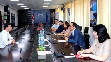Meeting with the Ambassador of Austria to Georgia