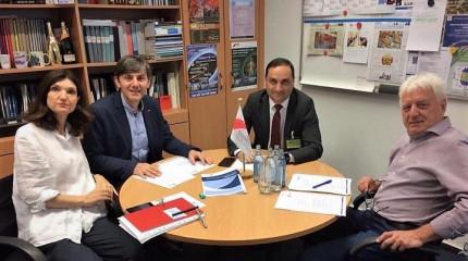 SRNSFG Director General's official visit at Julich Research Center (Forschungszentrum Juelich)