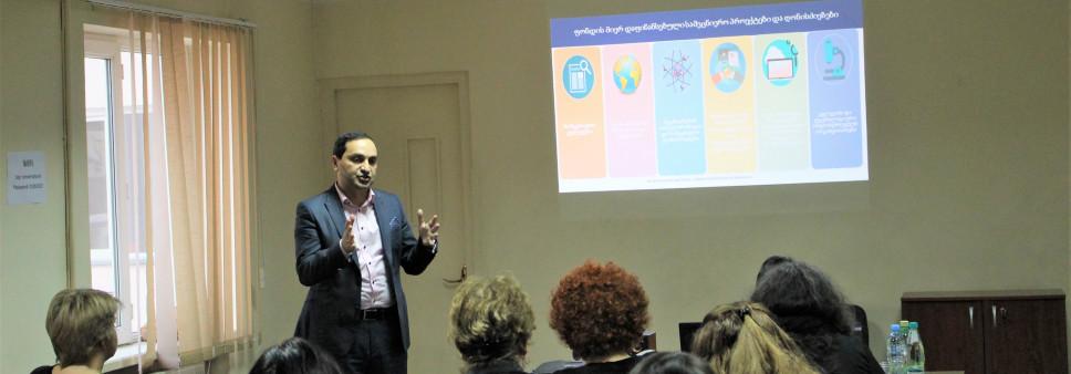 Meeting at Tbilisi State Conservatoire - Development of Georgian Studies, Creative Studies - Artistic Research